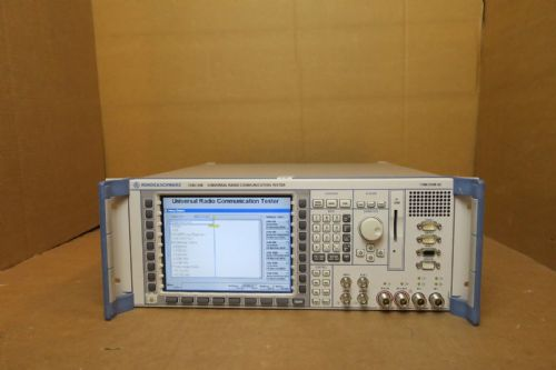 Rohde & Schwarz CMU-200 Universal Radio Communication Tester 1100.0008.02 R&S